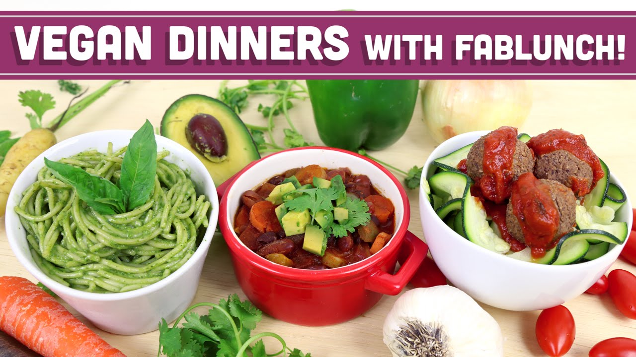 3 vegan budget dinner recipes collab with fablunch youtube forumfinder Images