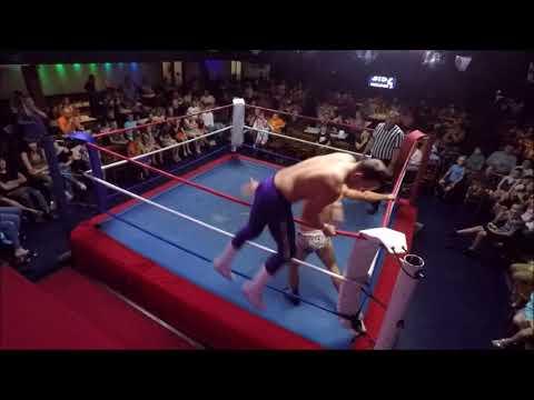 Phoenix Wrestling - Priory Hill 19/08/18 - JJ Lynch Vs Kafka