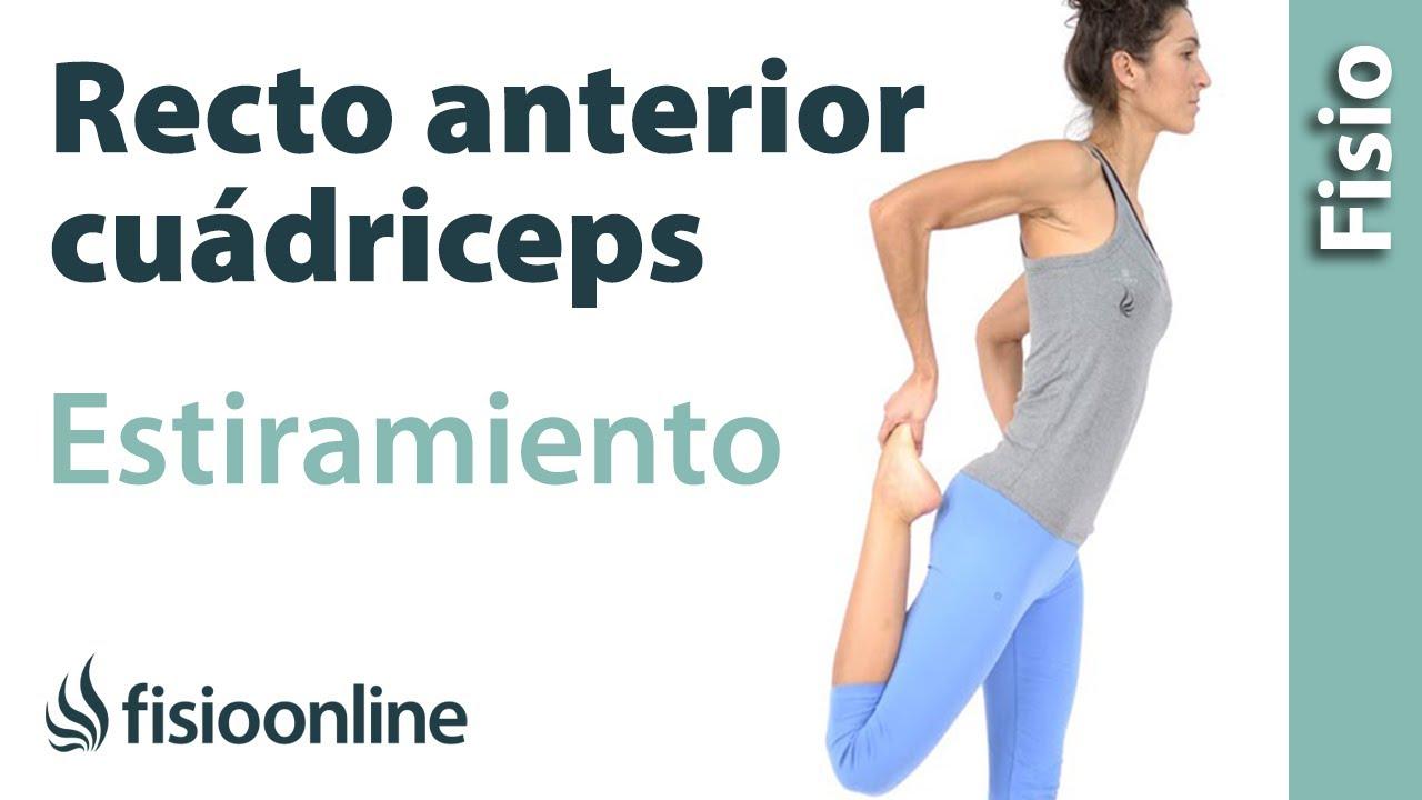 ejercicios para estirar cuadriceps