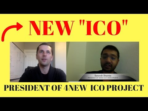 4NEW ICO Interview With President: Saransh Sharma - 4New Waste to Energy Project
