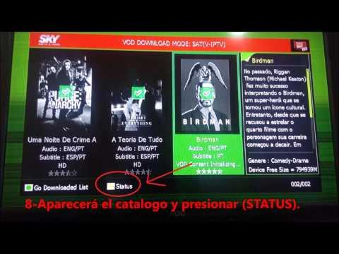 tutorial CINE SKY  V-IPTV tocomsat, tocombox