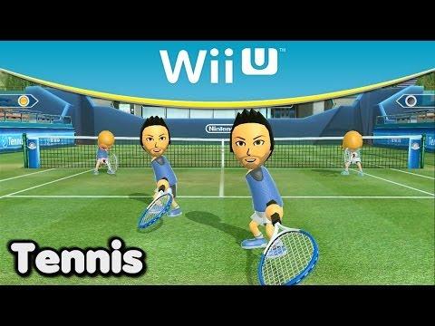 Wii Sports Club - Tennis Gameplay - Full HD