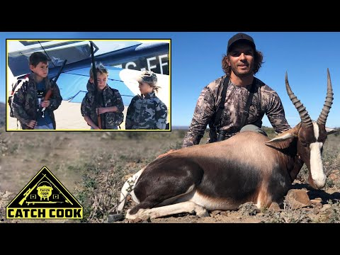 Kids On First Bontebok / Springbok Hunt [Catch Cook] South Africa