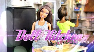 DIY - How to Make:  Doll Room in a Box:  Kitchen - EXTREME - Handmade - Crafts