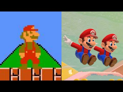 Super Mario Bros Theme Evolution 1985  2015