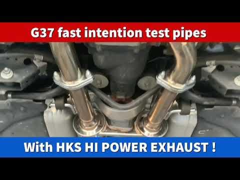 Download G37 Hks Single Exit Exhaust MP3, 3GP, MP4