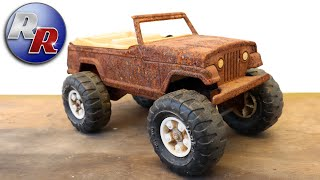 Restoration: 1970s Tonka Jeepster Stump Jumper Restoration