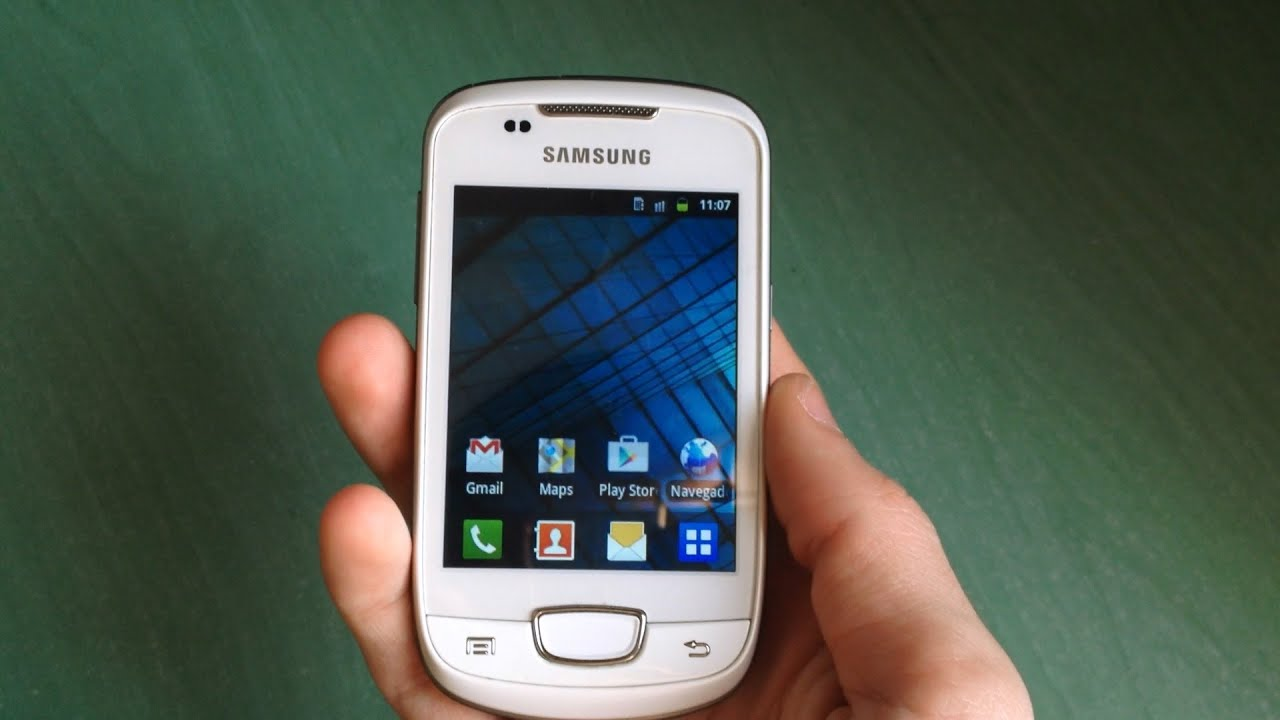 Samsung Galaxy Mini (GT-S5570) Quick Review (ringtones
