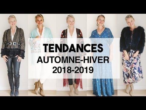 Tendances Automne hiver mode 2018-2019- GUIDE TENDANCES