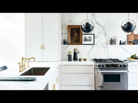 Kitchen Makeover: 90s Kitchen Gets A Glamorous Update