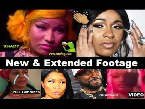 Nicki Minaj tells Cardi B to RELAX