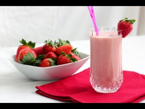 Strawberry shake - HEALTHY FOOD - DIABETIC FOOD - How To QUICKRECIPES