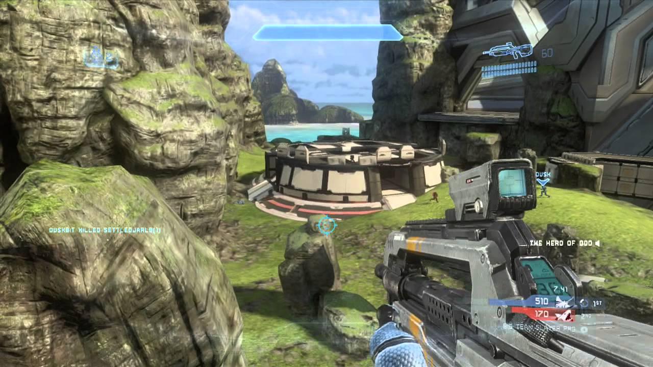 Halo 4 Multiplayer Gameplay 54 - Big Team Infinity Slayer ...
