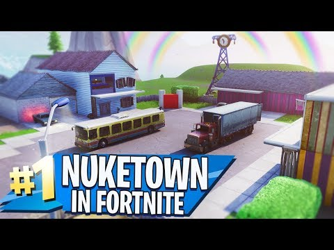NUKETOWN in FORTNITE CREATIVE MODE!!
