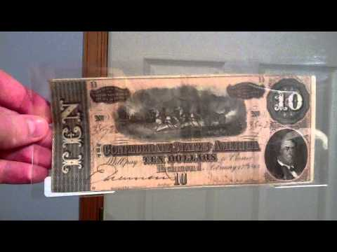 Confederate Paper Money (1864)
