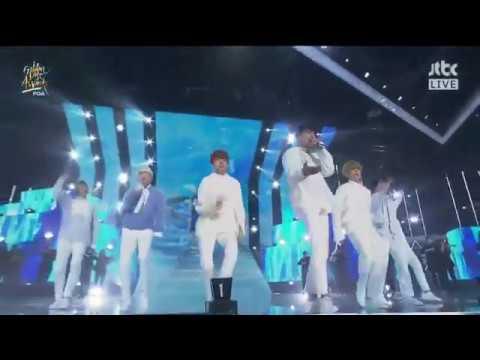 [2018 골든디스크] BTS (방탄소년단) -  'Outro: Her' + '봄날 (Spring Day)' Live (32nd Golden Disc Awards)