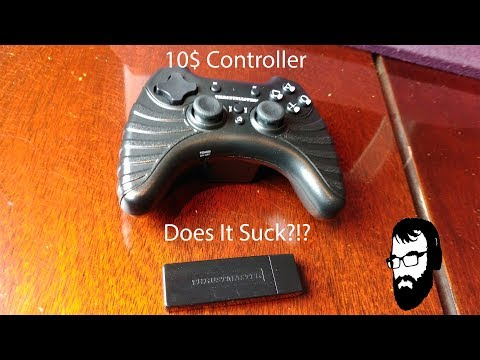Thrustmaster T-Wireless Controller Review (PC PS3 Android)