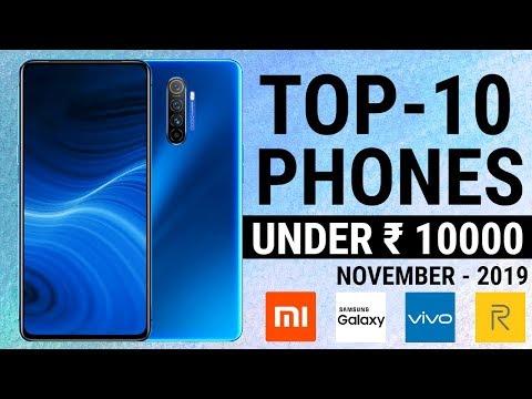 Top 10 Phones Under 10000 November 2019 | Best Mid Range Phones | Mobiles Upto 10K | HINDI