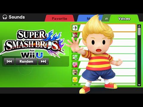 Lucas Voice s  Super Smash Bros Wii U