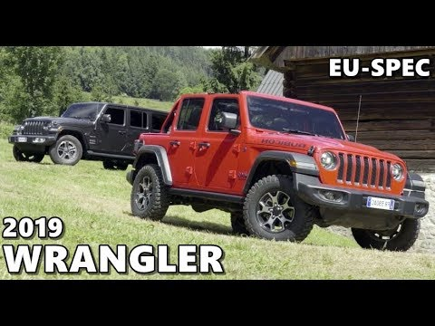 2019 Jeep Wrangler European Models Youtube