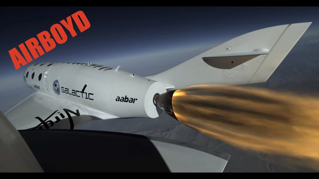 Virgin Galactic SpaceShipTwo First Powered Flight - YouTube