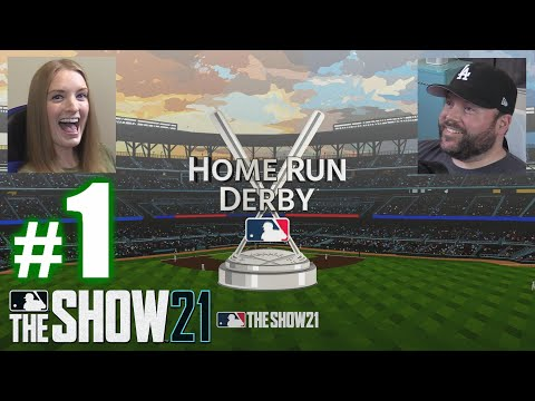 I HOMERED OFF A SPACESHIP! | MLB The Show 21 | Home Run Derby #1