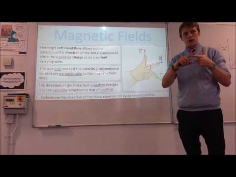 A Level Phyiscs: Magnetic Fields: Forces on Charged Particles