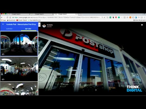 Australia Post - Google Street View Demo
