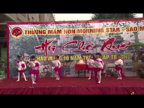 Nhảy hiện đại mầm non Sao Mai