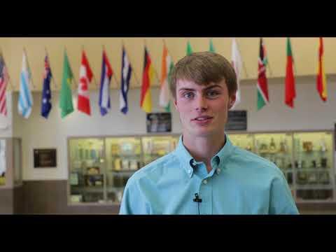 Luke Ellis from Rifle High School ||  GlenX Career Expo Fall 2017