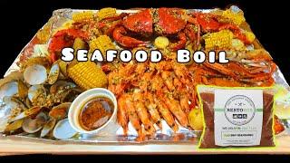 Seafood Boil | Easy Sea Food boil recipe Using Old Bay Seasoning