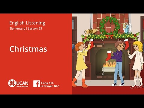 Learn English Listening | Elementary - Lesson 85. Christmas