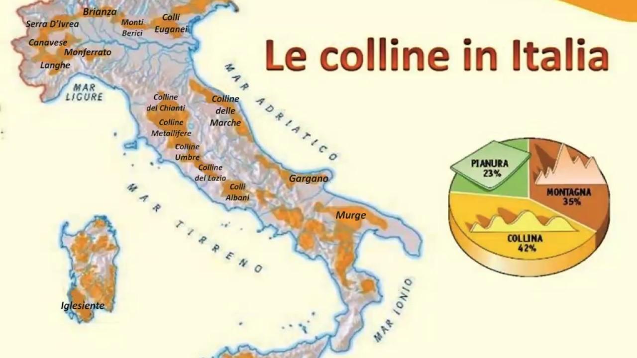 Monti Berici Cartina Italia.Colline D Italia Youtube