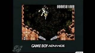 The Pinball of the Dead Game Boy Gameplay - Boss battle