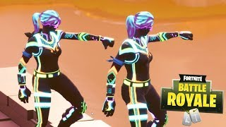 FORTNITE-The NEW SKIN NEON has LUCKY!!! (TOP 1 DUO)