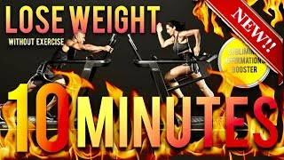 🎧LOSE WEIGHT WITHOUT EXERCISE IN 10 MINUTES! SUBLIMINAL AFF…