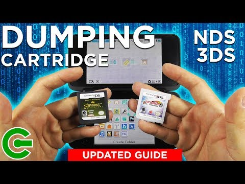 How To Dump NDS And 3DS Game Cartridge And Convert It To CIA Format