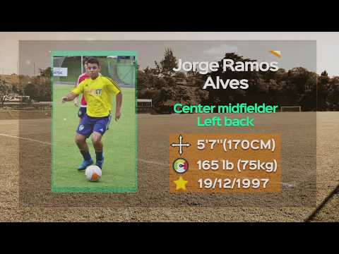 Jorge Alves - Left back / Center midfielder - Highlights video