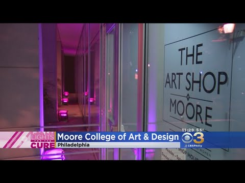 Moore College Of Art & Design Lights For The Cure