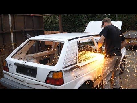 Auto doormidden slijpen!; RollGolf 2.0 #1
