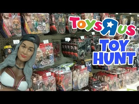 TOY HUNT!!! | Old Woman Nikki Bella | WWE Mattel Wrestling Figure Shopping Fun #74 thumbnail