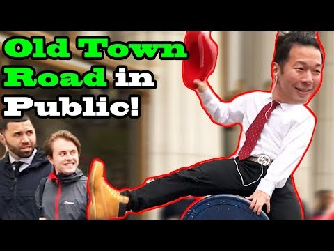OLD TOWN ROAD remix- Lil Nas X, Billy ray cyrus - DANCE IN PUBLIC!!
