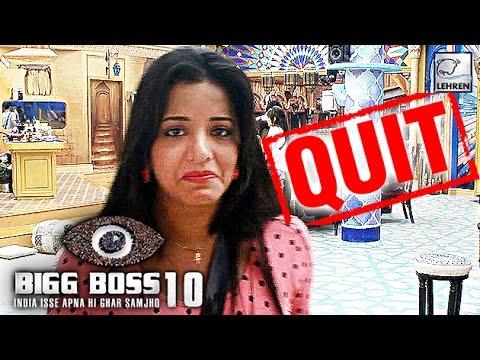 Bigg Boss 10: Monalisa QUIT The Show   Salman Khan