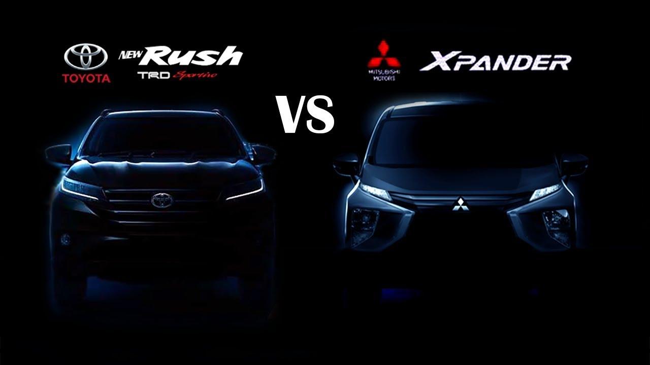 all new rush vs xpander