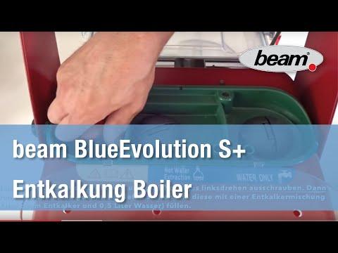 beam BlueEvolution S+ I Entkalkung Boiler