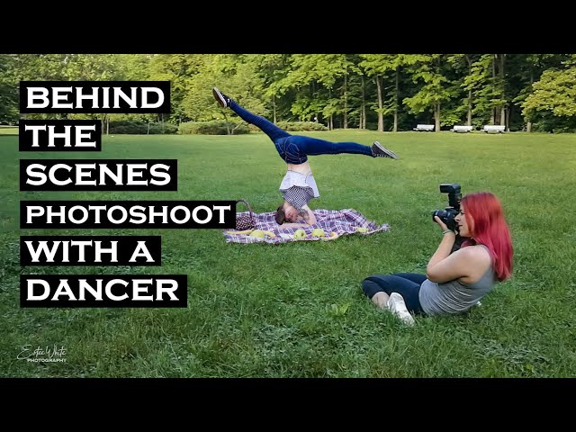 Behind The Scenes Photoshoot With a Dancer - Adriana | Estee White Photography