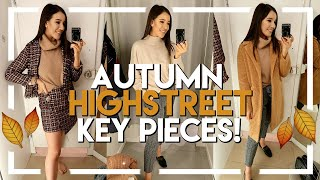 SHOP WITH ME FOR FALL 2018 FASHION TRENDS & ESSENTIALS | H&M, RIVER ISLAND & PRIMARK TRY ON