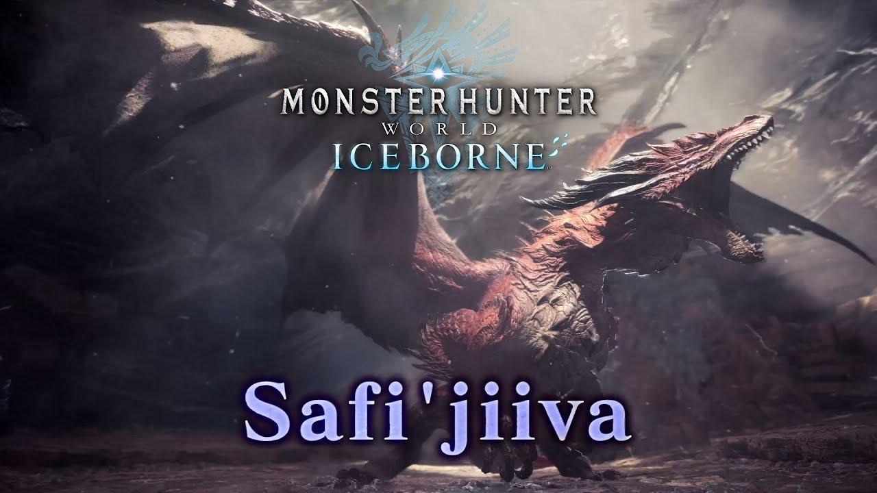Mhw Iceborne Safi Jiiva Siege Trailer Youtube