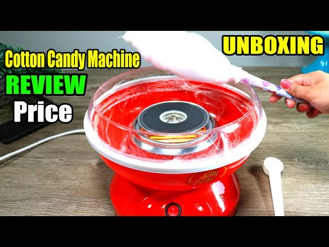 Cotton Candy Machine Review, Unboxing Price | DIY Laccha Bnane Wali Machine Review Hindi/Urdu
