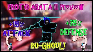[NEW UPDATE] Ro-Ghoul- PROTO ARATA II PREVIEW | Roblox